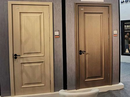 WPC Door New Designs 2019 Showed in Exhibition
